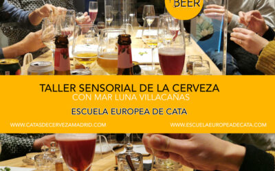 Taller Sensorial de la cerveza con Mar Luna Villacañas